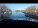 В Омской области затопило дороги