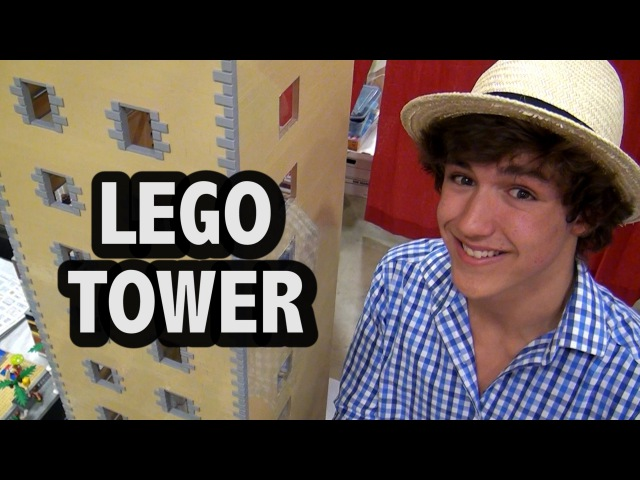 The inside of this LEGO tower will blow your mind!