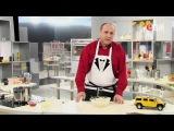 Как нарезать свежий огурец для салата с кальмарами мастер-класс от шеф-повара / И...