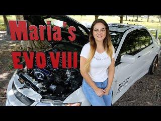 Maria's 500HP Evo VIII - The Perfect Car Girl?