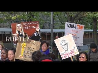 Германия: «Она представляет 1%, не женщин!» - Иванка Трамп в Берлине приглашает искрометный гнев.