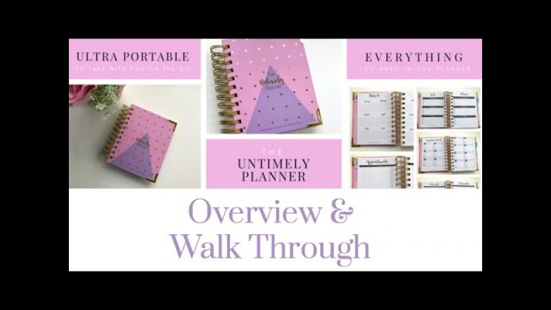 The Untimely Planner by Wendaful Designs | Overview