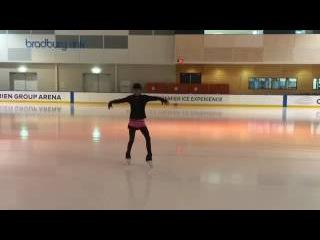 YURI ON ICE I TRIED TO SKATE TO EROS!