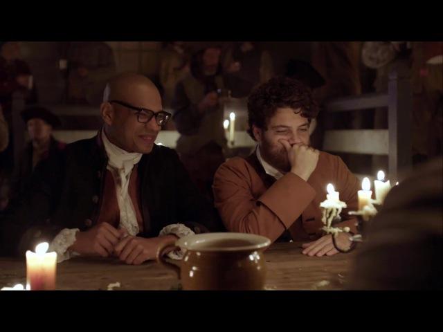 "Творя историю / Making History - 1 сезон Промо ""John Hancock Samuel Adams Prank"" (HD)"