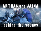Arthas and Jaina cosplay photoshoot - Behind the scenes