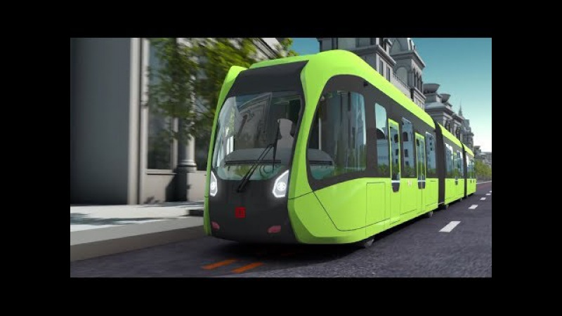 World's first smart bus with virtual tracks: How does it work?