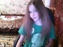 Совсем ещё юная малолетка показала себя на вебку без трусиков