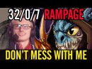 Dota 2 Miralce 32 Kills Zero Death Slark by Miracle Rampage