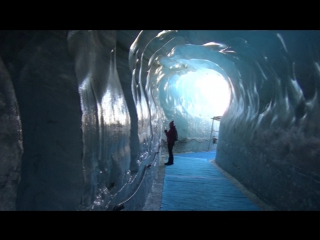 La mer de glase ледник возле шармони