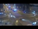 Ночная авария на Красном проспекте