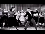 Билл Хейли дэнс. 1950-е. Белый линди-хоп. Крутяк.