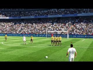 Удивительное невезение в матче FIFA 17
