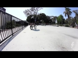 BMX - STEVIE CHURCHILL CALI SKATEPARK SESSION - DAN