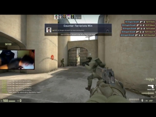 ScreaM vs Na Vi - 1 BULLET ACE! (6 sec)