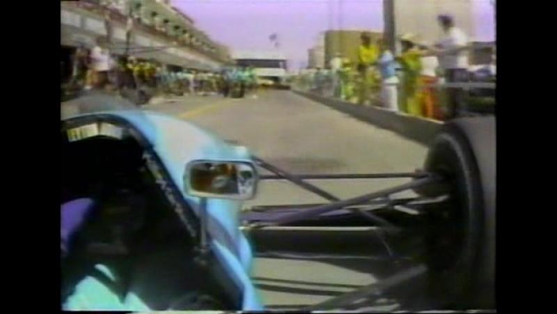 F1 1989. Гран-при США. Гонка