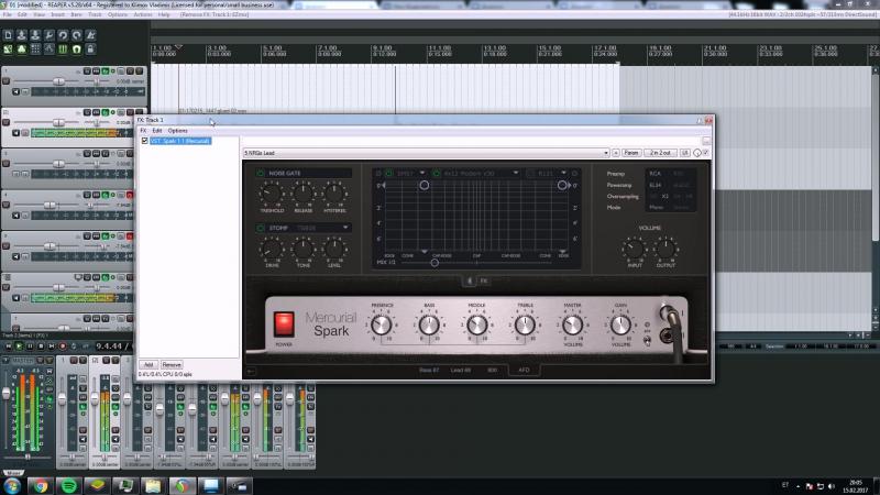 Mercuriall Audio Software - Spark