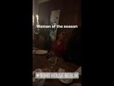11.07.2017 - Званый ужин в честь дизайнера Лейлы Пидайеш, SoHo House, Берлин (Германия)