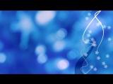 Футажи для видеомонтажа Красивая анимация на голубом фоне