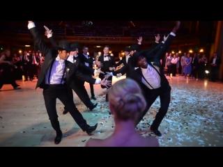Свадебный танец жениха. Суппер!