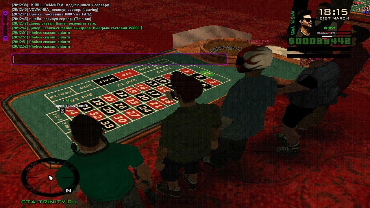 тактики в казино тринити рп 2