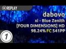Dabovo xi - Blue Zenith FOUR DIMENSIONSHD FC 98,24 541pp 1