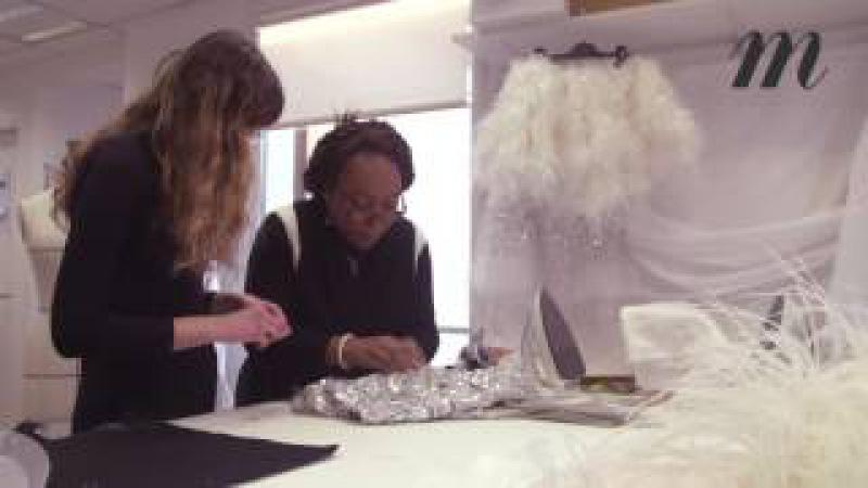 Chanel haute couture les secrets de fabrication de la robe miroir portée par Kendall Jenner