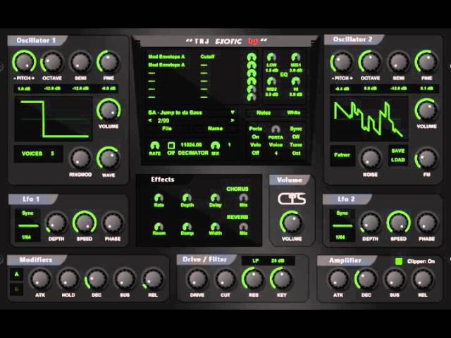 Noizefield - Exotic [WiN x86] [Free] :: Бесплатный синтезатор
