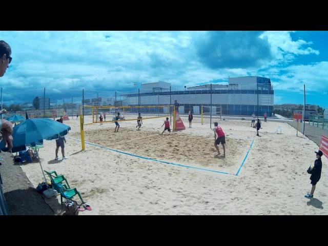 Beach volley Russia Anapa 2017 M Game 04 Ivanov-Kobelev and Jarikov-Phialkovsky