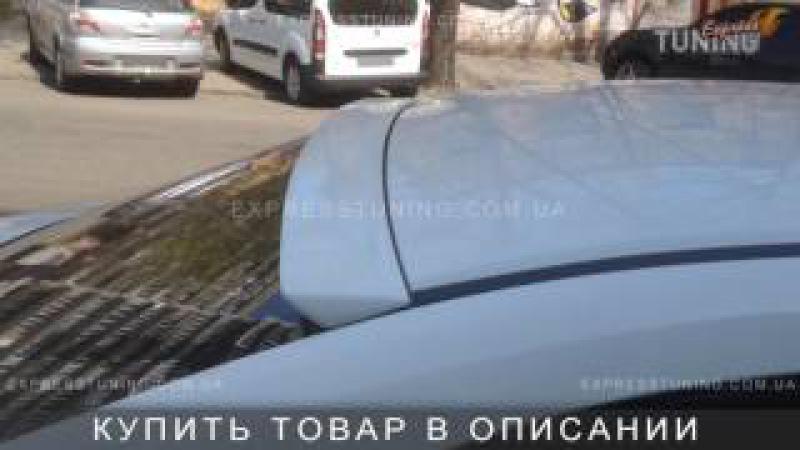 Спойлер на стекло Хонда Цивик 4Д. Спойлер на заднее стекло Honda Civic 4D. AOM tuning. Тюнинг ...