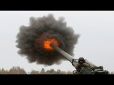 Monstrous Ukrainian Artillery Action During Heavy Live Fire Combat Training 2S7 Pion, Msta-B, D-20