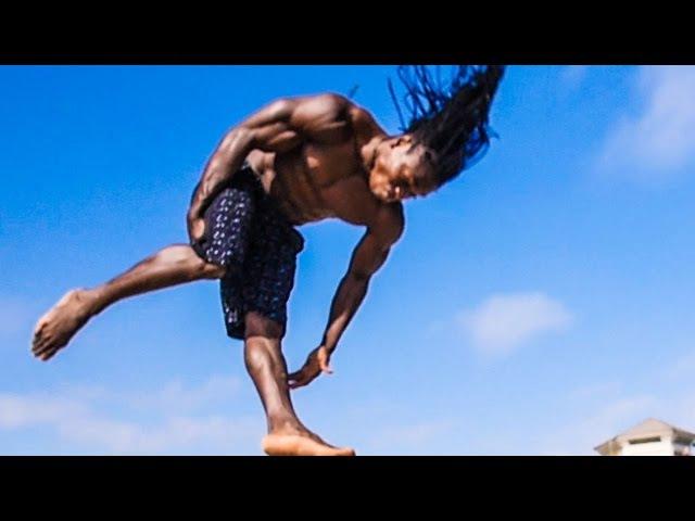 GRAVITY DESTRUCTION: Return of West African Acrobats Alseny Saliou