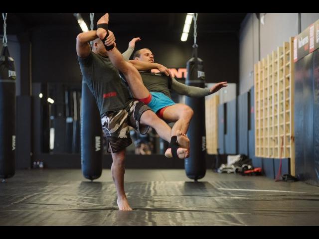 Подсечка в муай тай уроки тайского бокса с чемпионом мира