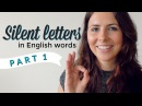 Silent Letters | English Pronunciation Vocabulary | PART 1