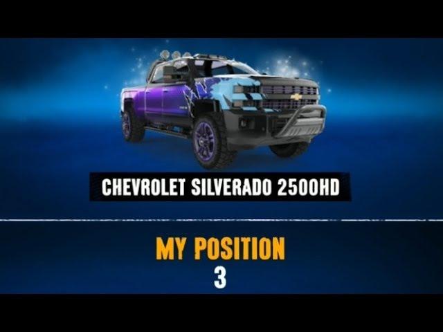 Asphalt Xtreme🏎💨Chevrolet Silverado 2500HD Clash Cup🏆Industrial Downtown Detroit [103261]