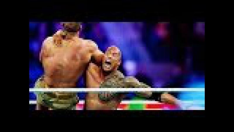 WWE Wrestlemania 29 John Cena vs The Rock
