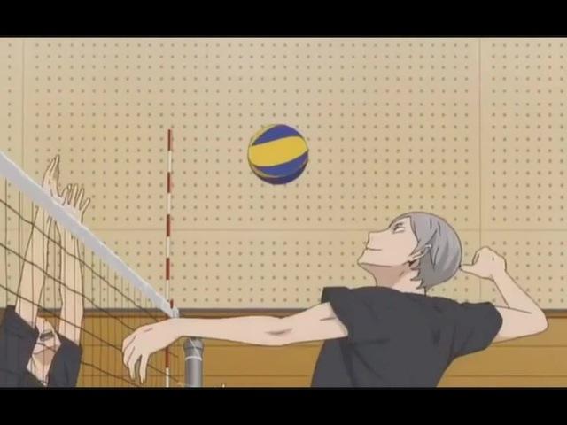 Смешной момент из аниме -Волейбол-