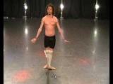 Антон Савлепов на кастинге в балет Quest Pistols