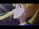 Sailor Moon Crystal Season 3 Act 37 l Super Sailor Moon Sacrifices
