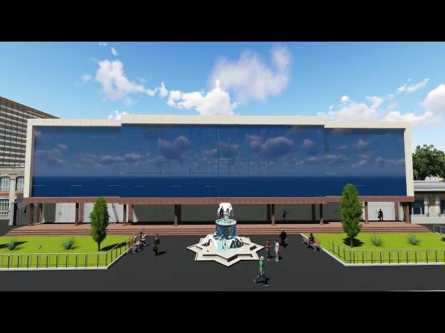 Самарканд Бульвар - Архитектурная 3D визуализация