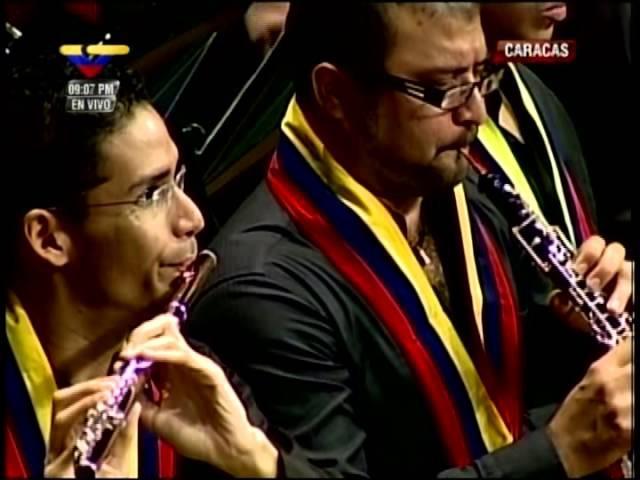 COMPLETO: Concierto de Gustavo Dudamel en Teatro Teresa Carreño por la salud del Pdte Chávez