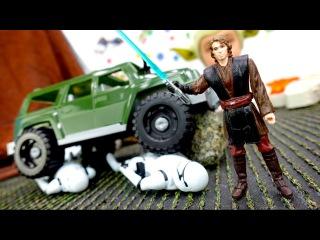 Звездные войны: обзор жетонов Стар Варс. Дарт Вейдер против Люка Скайуокера! Вид ...