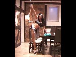 Contortion gymnastics Challenge - Gymnastics At Home! Gymnastics Splits! flex girl, video Stretches