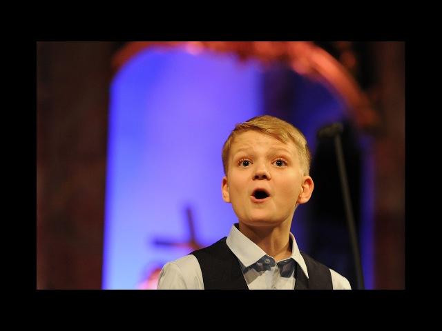 Let the bright Seraphim (Handel) | boy soprano Aksel Rykkvin (13y), Mark Bennett Barokkanerne