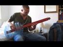 Black Sabbath Ironman on home made bottle bass guitar