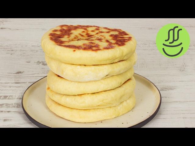 KOLAY Peynirli Bazlama - KAHVALTILIK Bazlama Tarifi - Tavada Ekmek Nasıl Yapılır