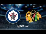 WINNIPEG JETS VS CHICAGO BLACKHAWKS HIGHLIGHTS 1/26