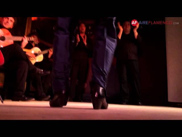 Baile flamenco   Javier Barón por alegrías