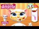Говорящая Кошка Анжела Уход за Кожей Детские Мультики Мультфильмы для девочек и мальчиков ChildrenTV
