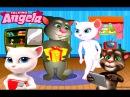 Говорящая Кошка Анжела первая помощь Детские Мультики Мультфильмы для девочек и мальчиков ChildrenTV