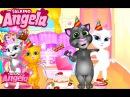 Говорящая Кошка Анжела Праздник Детские Мультики Мультфильмы для девочек и мальчиков Children TV
